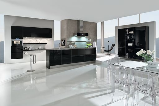 Luxe Kitchens » Glass Kitchens